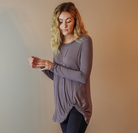 Lavender Tunic Long Sleeve