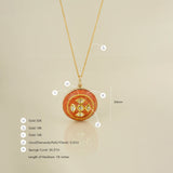Sun cross Pendant/m165
