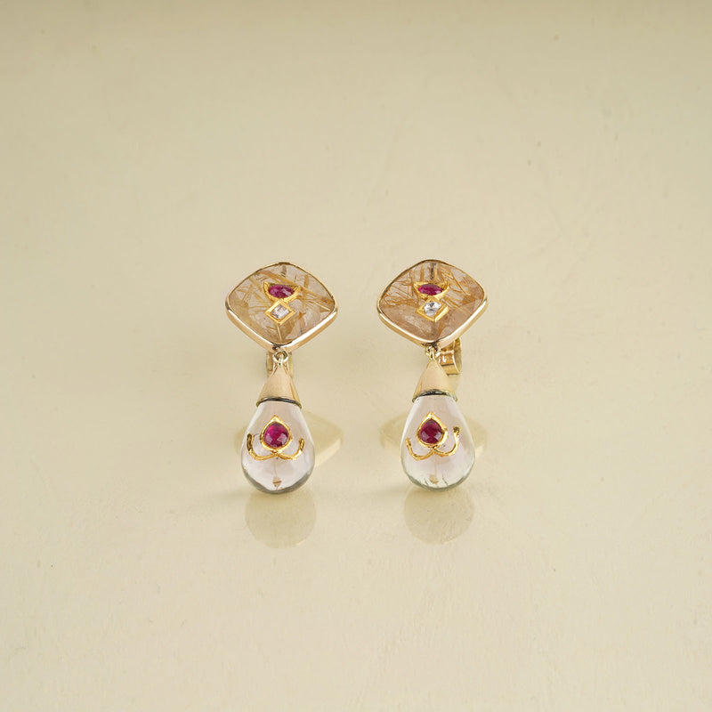 Dew Drop Earrings/m114