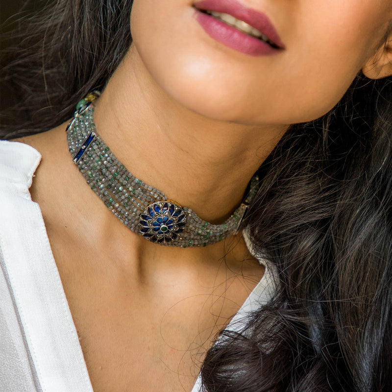 Marrakesh Choker Necklace/M064