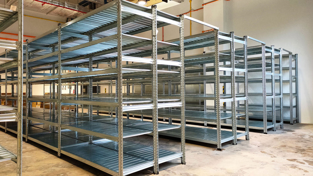 Boltless Storage Rack | Warehouse Storage Solutions | SIM WIN LIANG Singapore