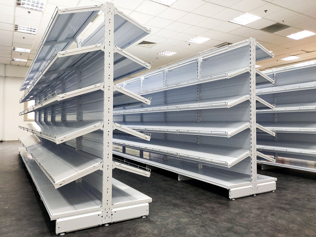 EUROSCACCO Gondola Shelving | Retail and Warehouse Display Fitting | SIM WIN LIANG Singapore