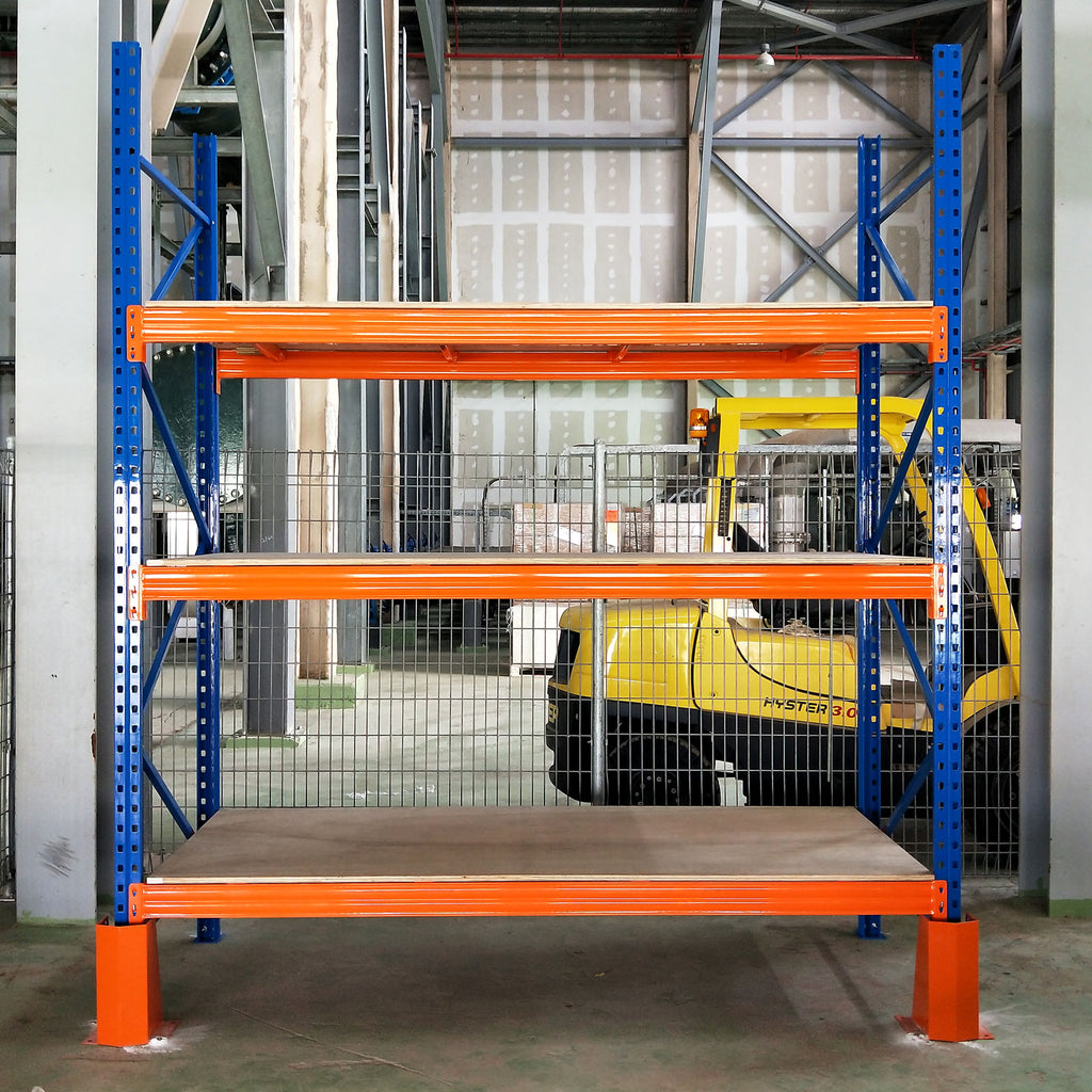 Heavy Duty Pallet Rack with Frame Guards | Heavy Duty | For Warehouse | SIM WIN LIANG Singapore