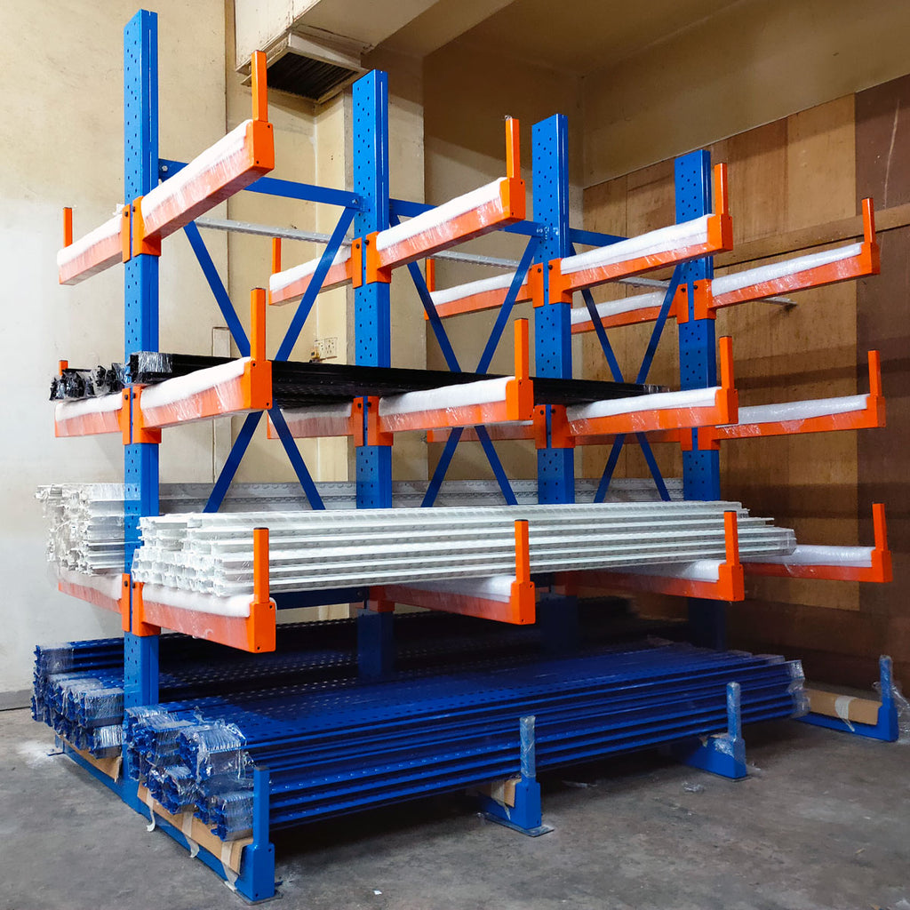 Medium Duty Cantilever Rack | SIM WIN LIANG Singapore