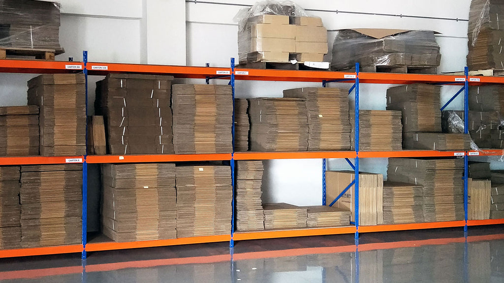 Medium Duty Ideal Longspan Rack | SIM WIN LIANG Singapore