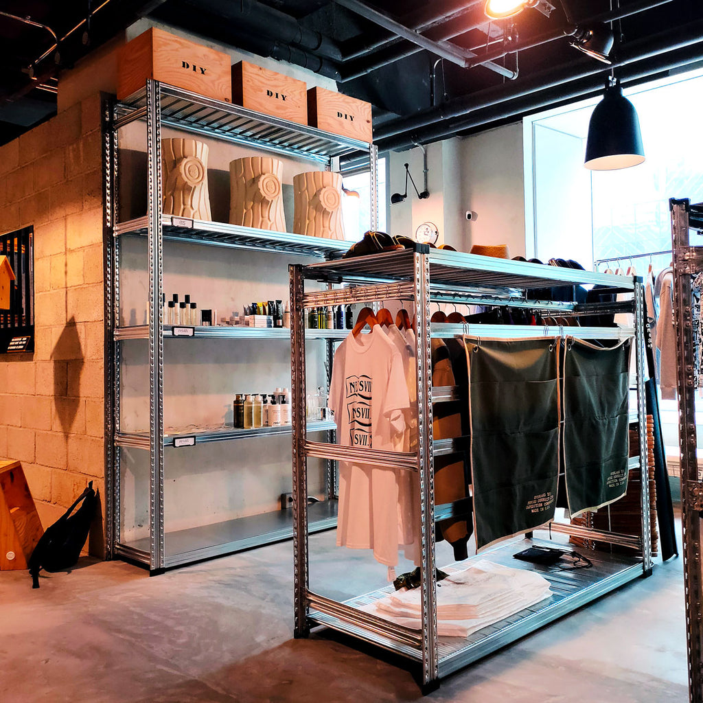 Boltless Clothes Rack | Retail Display and Storage | SIM WIN LIANG Singapore