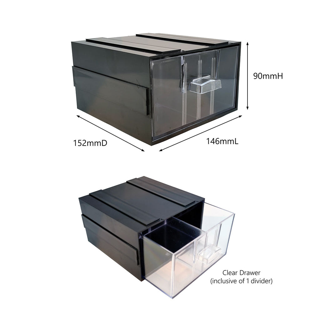 Storage Box with Divider | Stackable Multi Box SD1 | SIM WIN LIANG Singapore