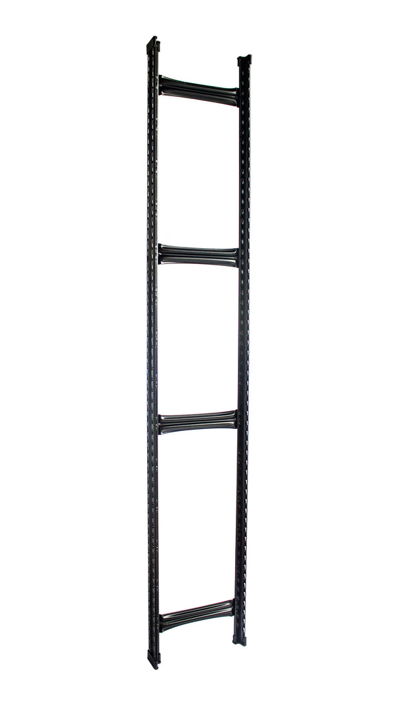 Boltless Rack Upright Frame | Black | SIM WIN LIANG Singapore
