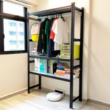 Boltless Storage Clothes Rack - Sim Win Liang