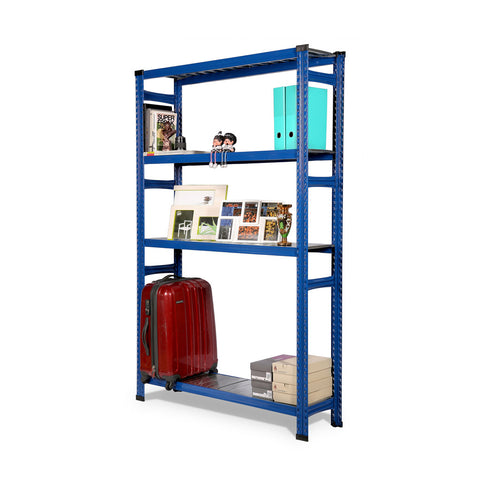 Boltless Storage Rack, Blue - Sim Win Liang