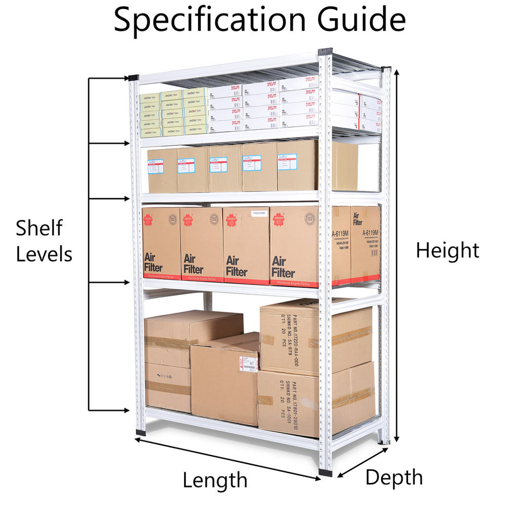 Boltless Storage Rack Specification Guide | SIM WIN LIANG Singapore