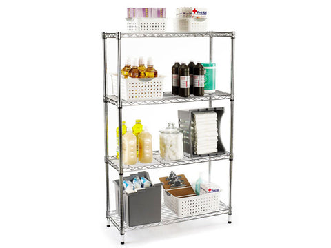 Chrome Plated Shelving - SIM WIN LIANG - www.simwinliang.com