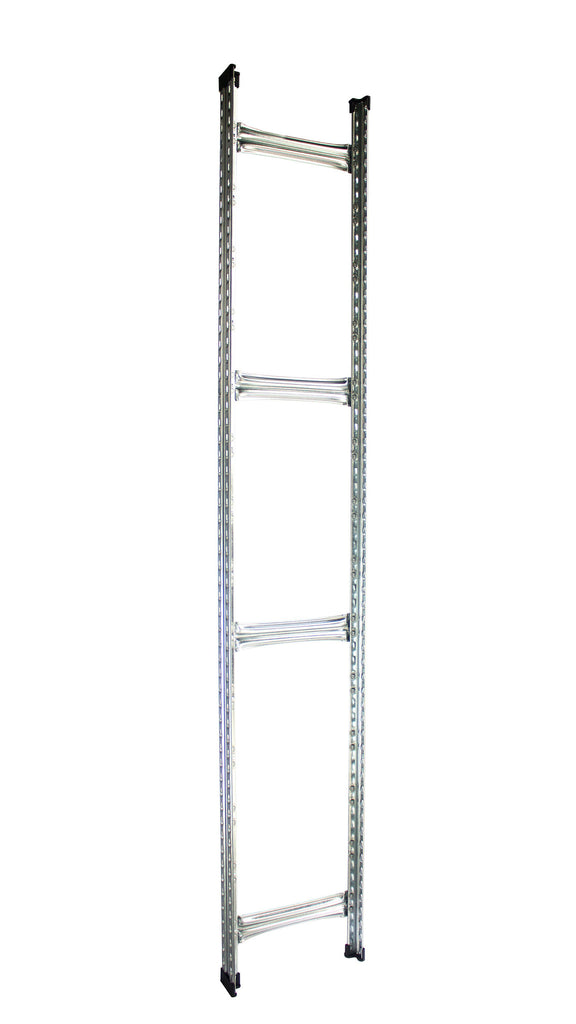 Boltless Rack Upright Frame | Silver | SIM WIN LIANG Singapore