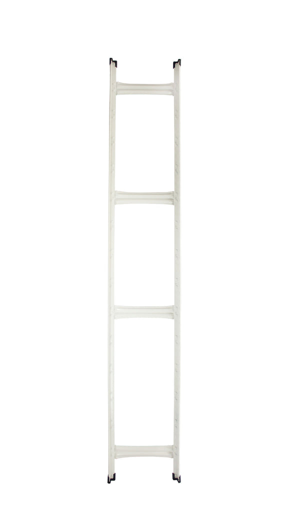 Boltless Rack Upright Frame | White | SIM WIN LIANG Singapore