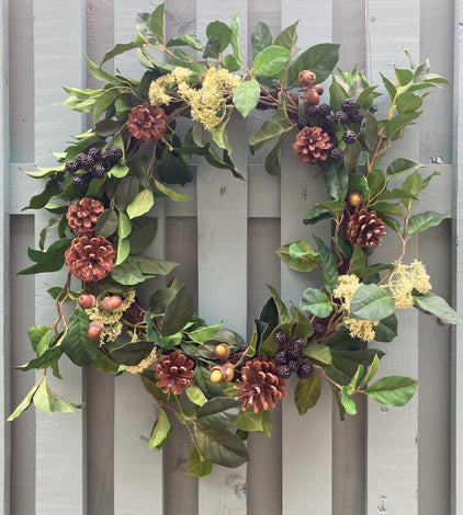 WREATHS AND DOOR DECOR