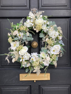 Wedding Day Wreath- Contact us to order