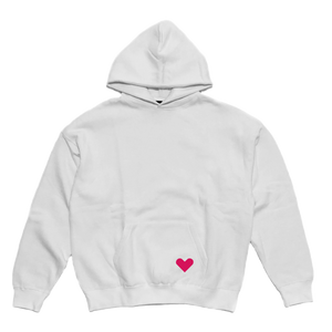 Open image in slideshow, Pardon My Glow White Hoodie