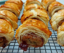 Load image into Gallery viewer, Christmas Sausage Rolls - 16