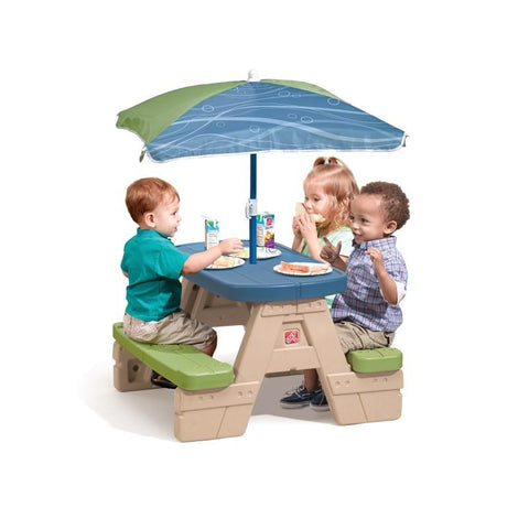 Speelelement | Step2 - Picknicktafel Sit & Play - JouwSpeeltuin