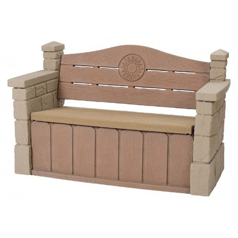 Image of Step2-Outdoor-Storage-Bench-Opberg-Bankje-Jouw-Speeltuin
