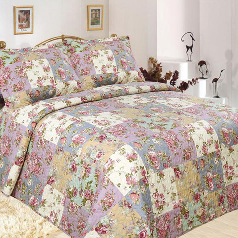 Aura Quilted Coverlet Set