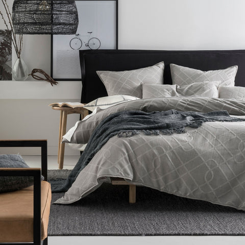 Adaleigh Quilt Cover Set - Baines Manchester