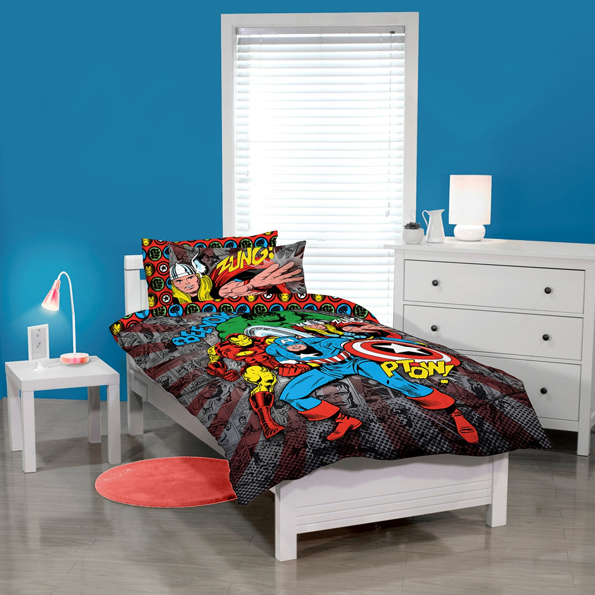 Avengers Quilt Cover Set | Baines Manchester : avengers quilt cover australia - Adamdwight.com