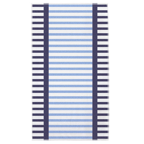 Coastline Egyptian Cotton Beach Towel - Baines Manchester