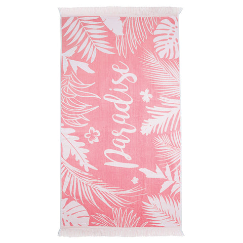 Paradise Egyptian Cotton Beach Towel