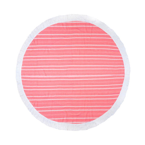 Horizon Round Beach Towel - 2 colours - Baines Manchester