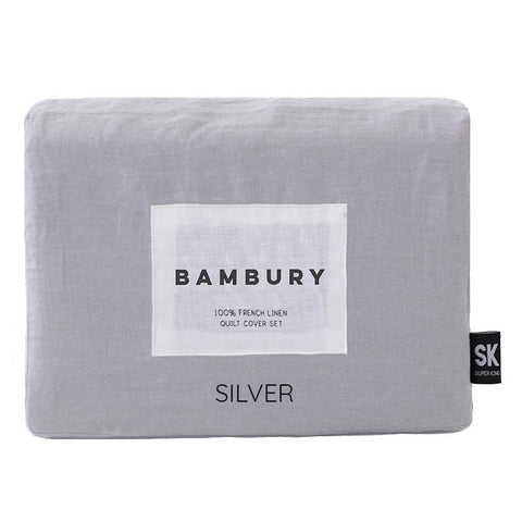 French Linen Quilt Cover Set - Baines Manchester