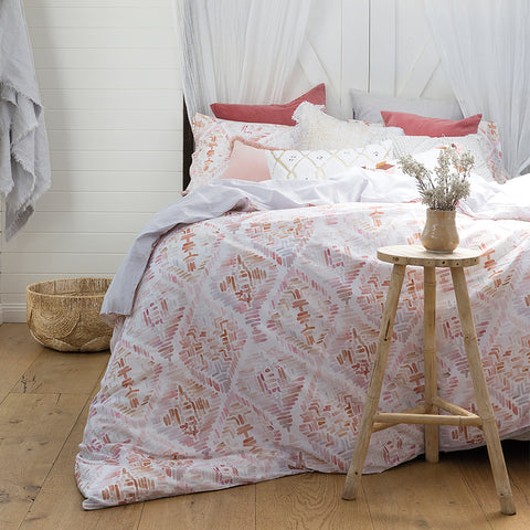 Magali Quilt Cover Set - Baines Manchester