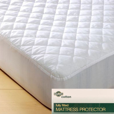Cotton Mattress Protector - Baines Manchester