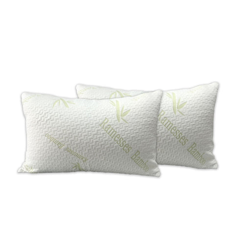 Twin Pack Bamboo Pillow Protectors