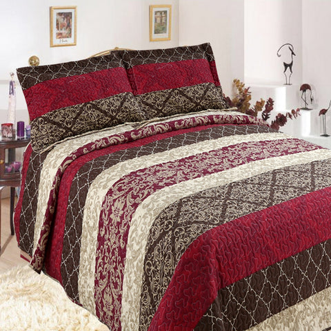 Casa Quilted Coverlet Set