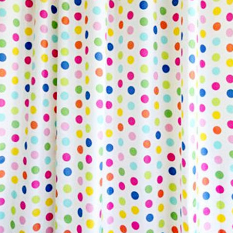 Candy Dots Standard Shower Curtain - Baines Manchester