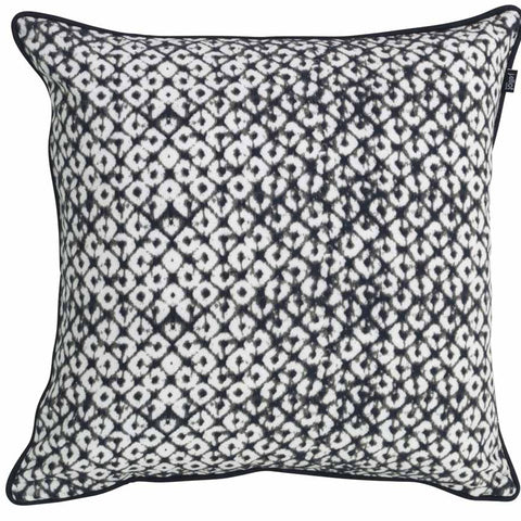 Clove Black Cushion Cover - Baines Manchester
