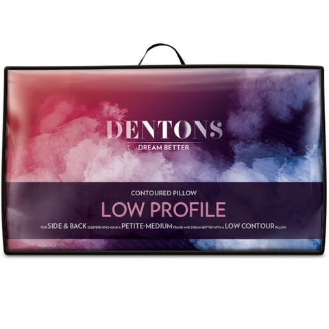 Dentons Low Profile Pillow - Baines Manchester