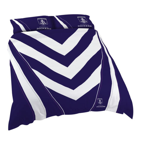 AFL Fremantle Dockers Quilt Cover Set