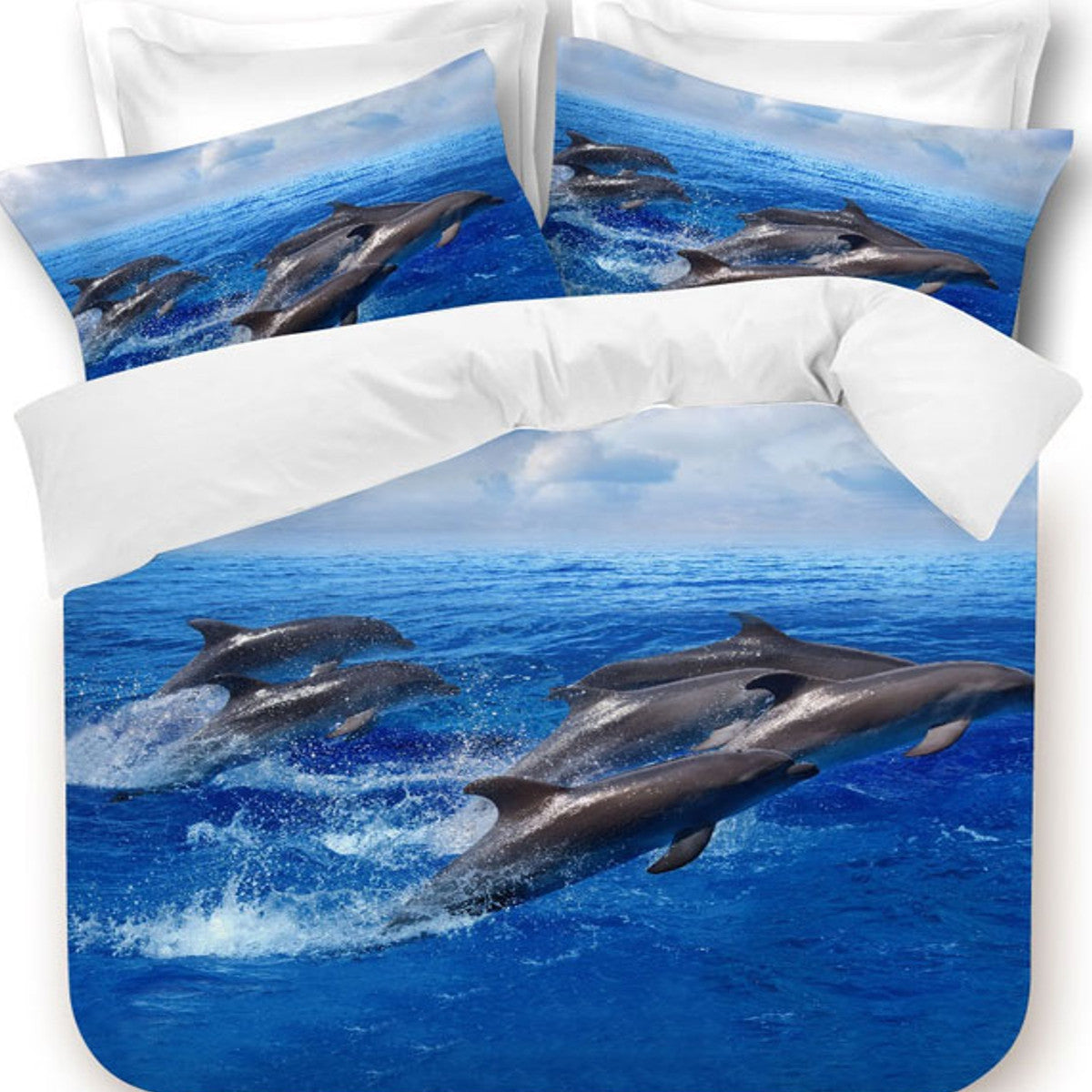 Dolphin Quilt Cover Set | Baines Manchester : dolphin quilt - Adamdwight.com