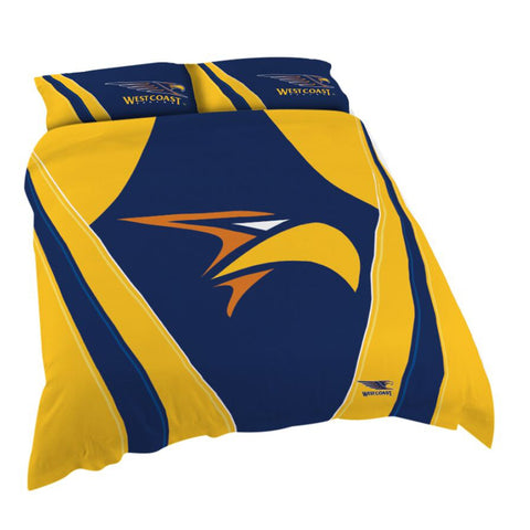 AFL West Coast Eagles Quilt Cover Set