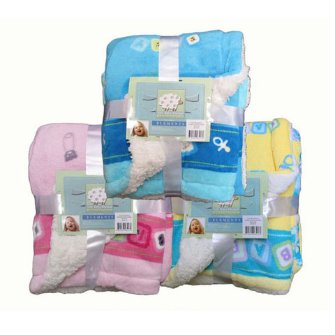 Cot Baby Blanket - Baines Manchester