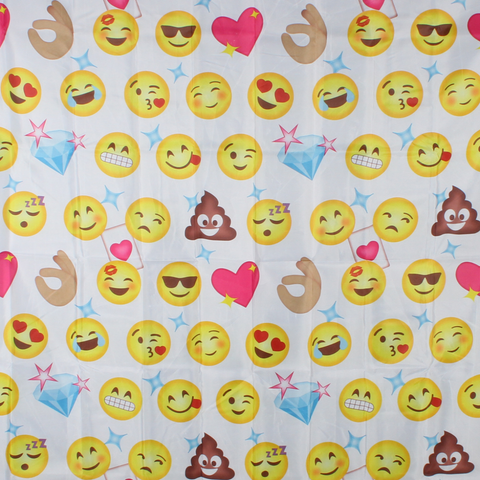 Emoji Shower Curtain - Baines Manchester