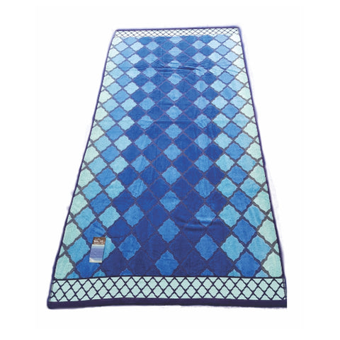 Glowing Mosaic Egyptian Cotton Beach Towel - Baines Manchester