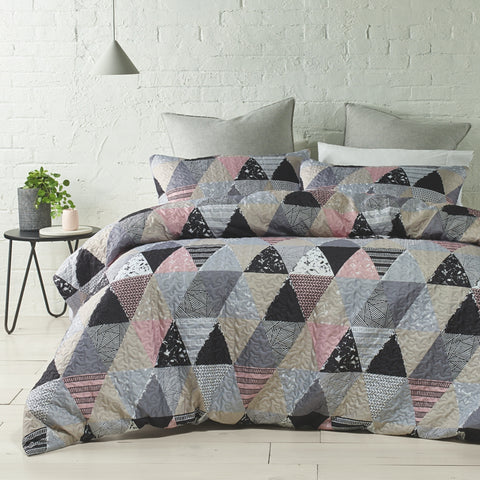 Hadspen Quilted Quilt Cover Set - Baines Manchester