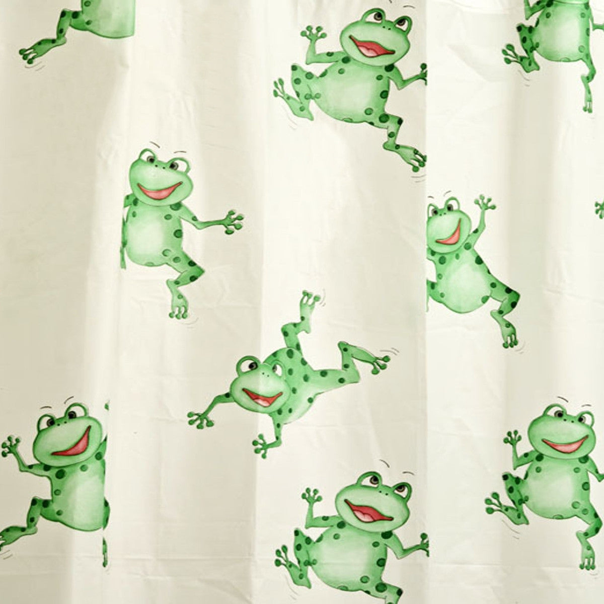 Jumping Frog Peva Standard Shower Curtain Baines Manchester