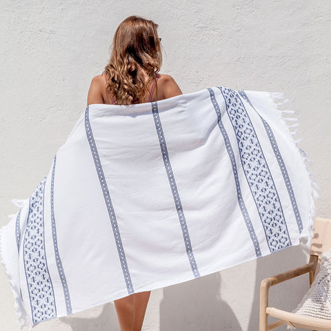 Kirri Beach Towel - 2 colours - Baines Manchester