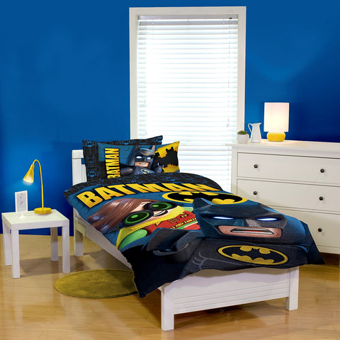 Batman Lego Quilt Cover Set
