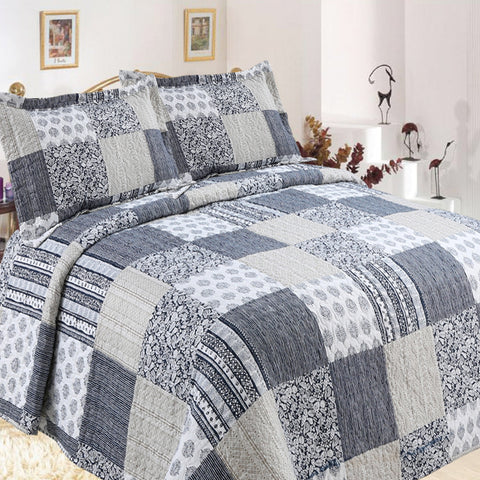 Macey Quilted Coverlet Set