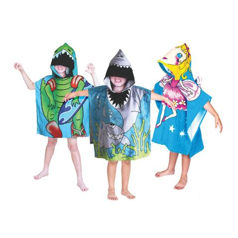 Children's Beach Poncho